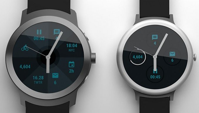 Часы Google Watch